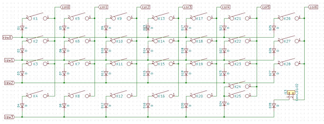 keyboard matrix